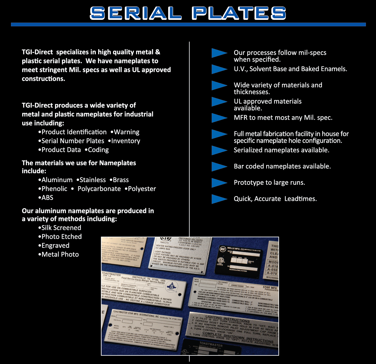 Serial Plates